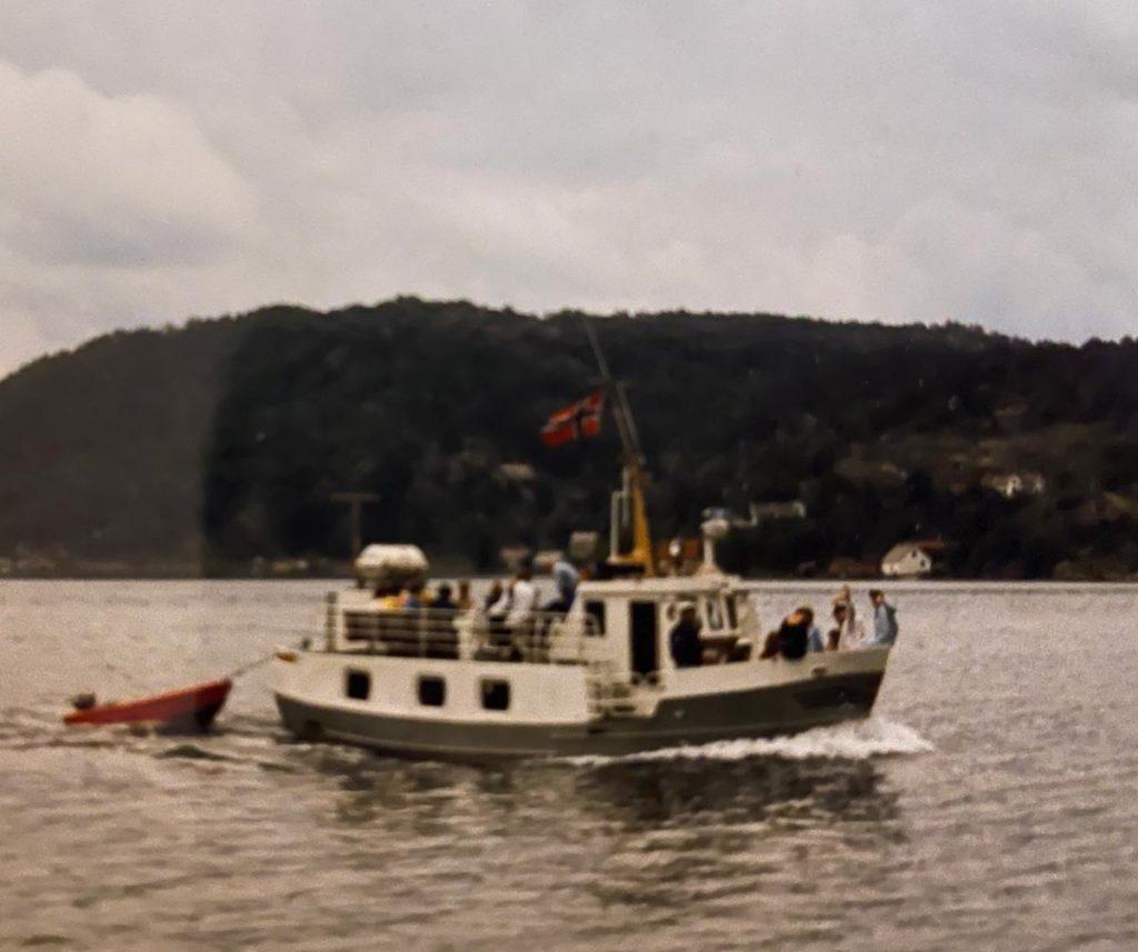 Farøy på chartertur i 1986.